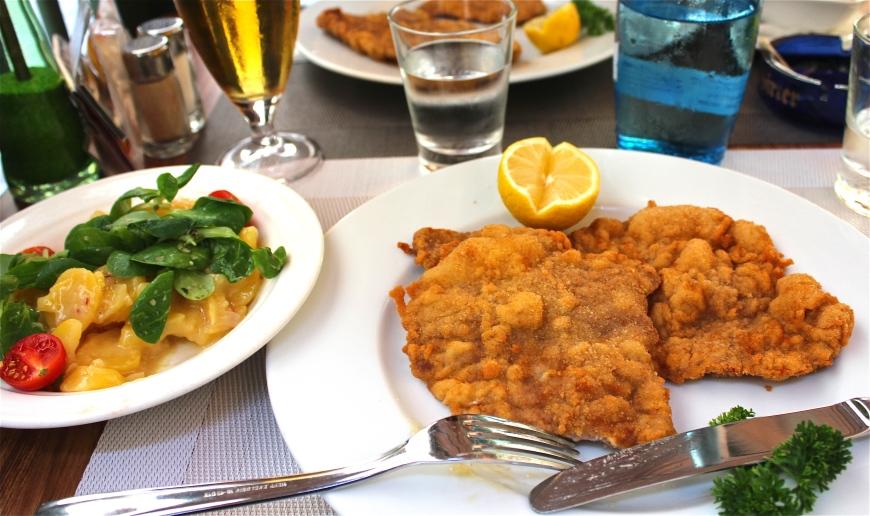 Vienna's best WienerSchnitzels