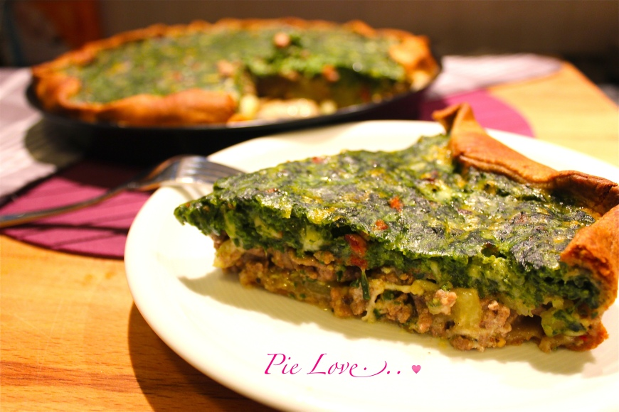Spinach Meat Pie! The Easy and Fast Way…